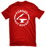 Forged Not Bought Knife Making T-shirt