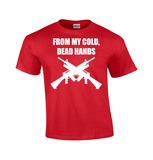 From My Cold Dead Hands | Gun T-shirt-Dad Shirts-Mens T-shirts