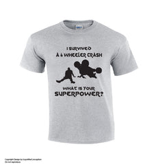 4 Wheeler Crash Funny T-shirt