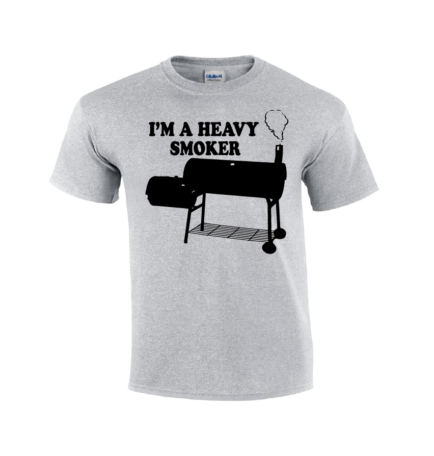 I'm A Heavy Smoker | BBQ T-shirt