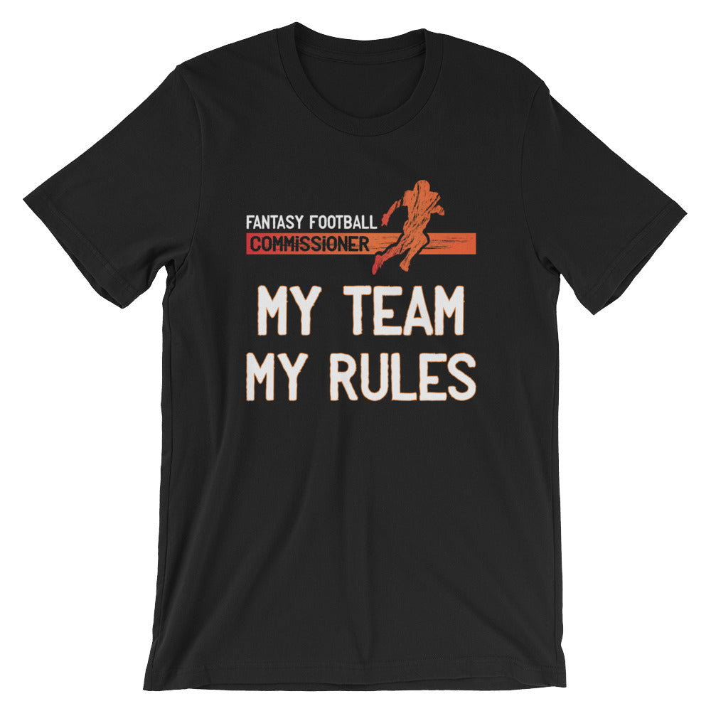 Fantasy Football League Commissioner T-shirt