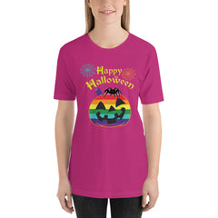 Happy Halloween Pumpkin LGBT T-shirt