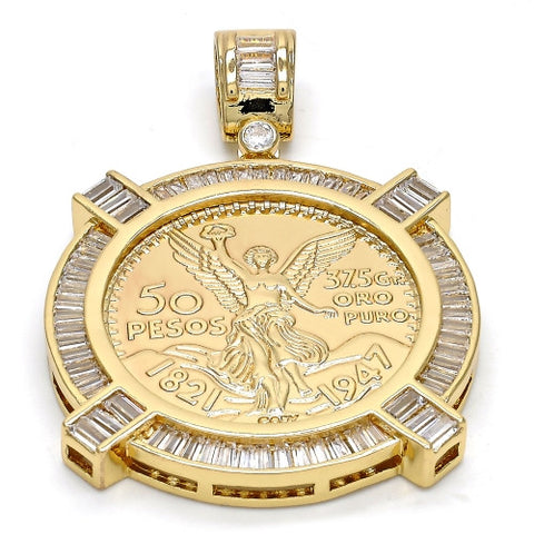 Gold Layered  Religious Pendant, Angel