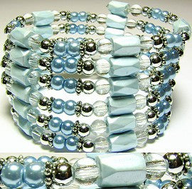 Magnetic Wrap Pearl Baby Blue