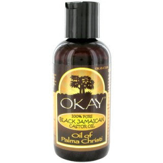 OKAY BLACK JAMAICAN 100% CASTOR OIL