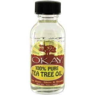 OKAY 100% PURE TEA TREE OIL 1OZ / 30ML