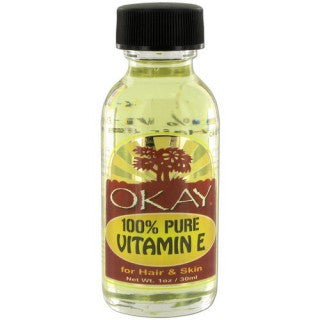 OKAY 100% PURE VITAMIN E OIL 1OZ / 30ML