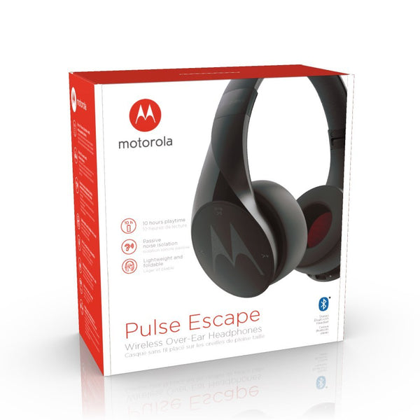 Motorola pluse escape headphone.