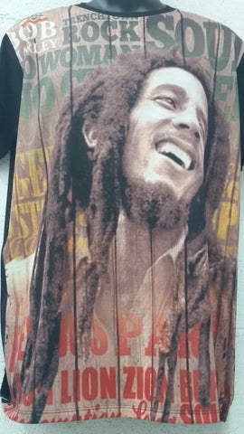 Men's Sublimation Bob Marley #2
