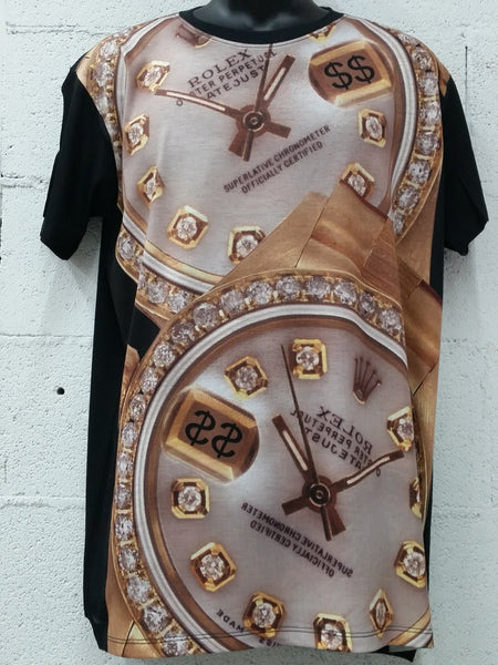Men's Sublimation Diamond Time