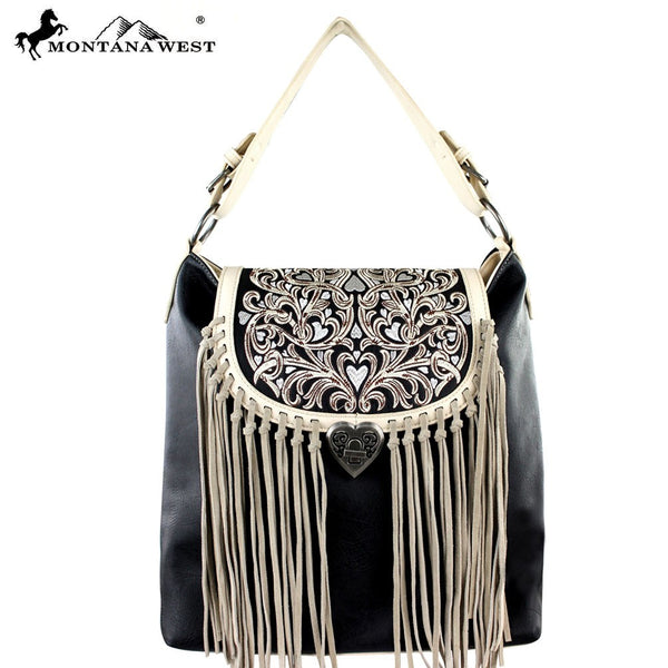 Montana West Fringe Concealed handgun Collection Handbag