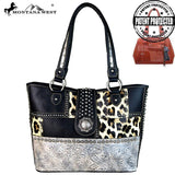 Montana West Safari/Concho Collection Concealed Carry Tote