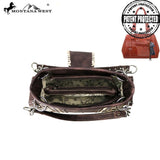 Montana West Buckle Collection Concealed Carry Satchel