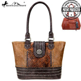 Montana West Concho Collection Concealed Carry Tote