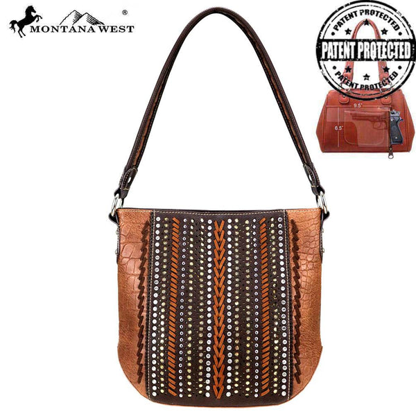 Montana West Safari Collection Concealed Carry Hobo