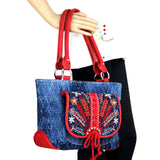 Montana West Embroidered Collection Concealed Carry Tote