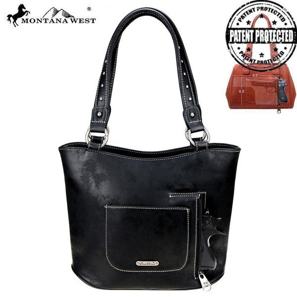 Montana West Aztec Collection Concealed Carry Tote Bag