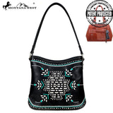 Montana West Aztec Collection Concealed Carry Hobo Bag