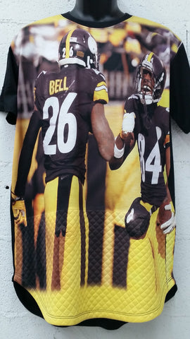 Men's Sublimationn Steelers-Bell