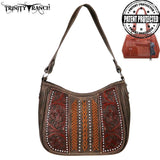 Trinity Ranch Tooled Leather Collection Concealed Carry Hobo