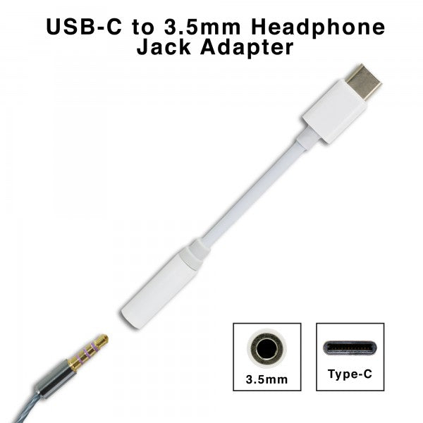 Type C to 3.5 mm Headphone Jack Adapter