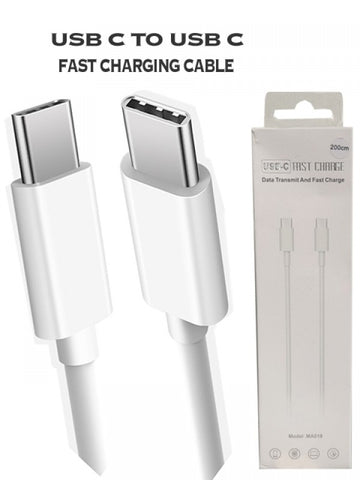 USB Type C to USB Type C Fast Charging Cable