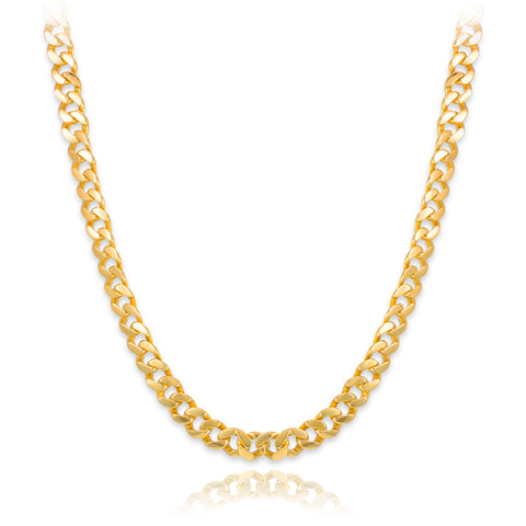 Solid Gold  Cuban Link Chain
