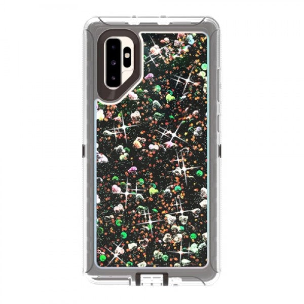 Transparent Floating Glitter Heavy Samsung Galaxy Note 10 Plus