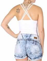 Mesh inset bodysuit One size