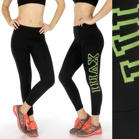 XVIII active capri leggings