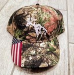 Mossy Oak/USA Adjustable Hat