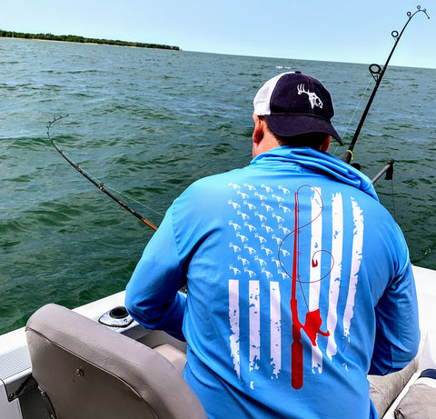 Performance Fishing Kayak Specialist Lite Hoody 2.0 (Sky Blue)