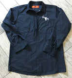 Navy Blue SCO Long Sleeve Button Down Outdoors Work Shirt