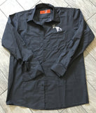 Gray SCO Long Sleeve Button Down Outdoors Work Shirt