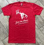 Red Join the Chase Americana Logo T-Shirt
