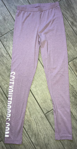 Women's Lilac SCO Leggings