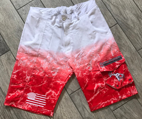 "Tactical Performance ""Young Blood"" Fishing Shorts"