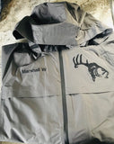 Men's Slate Gray Waterproof Rain Jacket