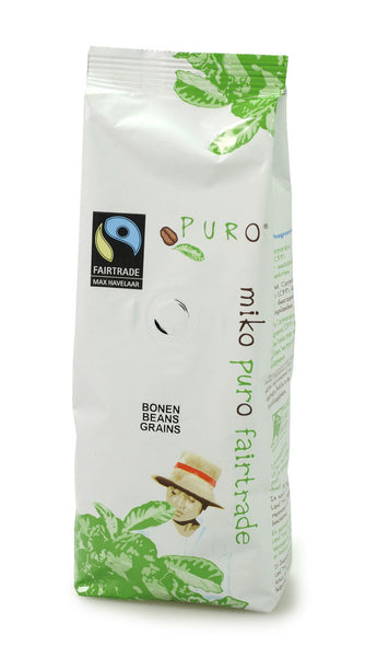 Puro Fairtrade Beans Noble (80% Arabica) - Available in 250g & 1kg sizes