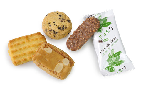Puro Candelaria Mix of 4 Different Cookies - Box of 125 pieces