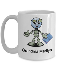 Grandma Marilyn Customizable Coffee Mug