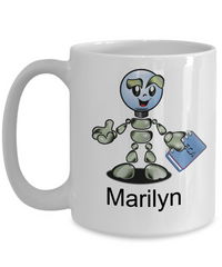 Robot Customizable Coffee Mug