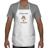 Customizable Family Cook Apron