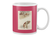 Snowball Fighting Dogs Mug