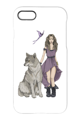 Wolf and Fairy  iPhone 7 Case