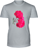 Red Roses with Rain Drops Unisex Tshirt