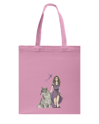 Wolf and Fairy Tote Bag