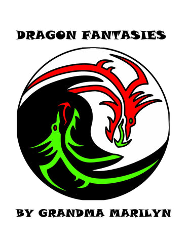 Dragon Fantasies Coloring eBook