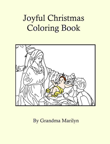Joyful Christmas Coloring eBook