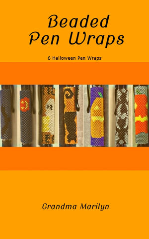 Beaded Pen Wrap Patterns: 6 Halloween Pen Wraps eBook